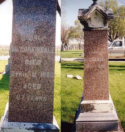 MCCORKINDALE, DONALD AND WIFE - Sac County, Iowa | DONALD AND WIFE MCCORKINDALE