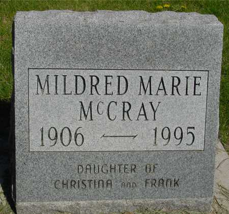 MCCRAY, MILDRED MARIE - Sac County, Iowa | MILDRED MARIE MCCRAY