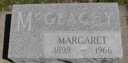MCGEACHY, MARGARET - Sac County, Iowa   MARGARET MCGEACHY