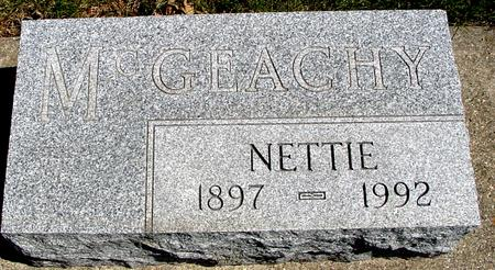 MCGEACHY, NETTIE - Sac County, Iowa | NETTIE MCGEACHY