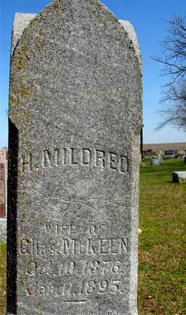 MCKEEN, H. MILDRED - Sac County, Iowa | H. MILDRED MCKEEN