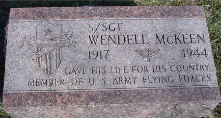 MCKEEN, WENDELL - Sac County, Iowa | WENDELL MCKEEN
