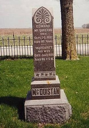 MCQUISTAN, EDWARD AND MARGARET - Sac County, Iowa | EDWARD AND MARGARET MCQUISTAN