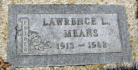 MEANS, LAWRENCE L. - Sac County, Iowa | LAWRENCE L. MEANS