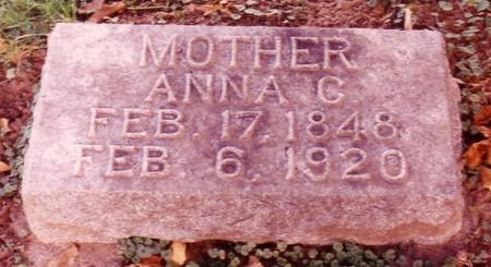 GRIESY MESSER, ANNA  CATHERINE - Sac County, Iowa | ANNA  CATHERINE GRIESY MESSER