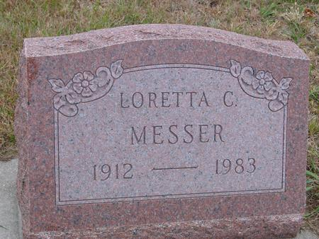 MESSER, LORETTA - Sac County, Iowa | LORETTA MESSER