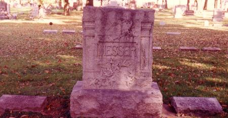 MESSER, MONUMENT , ADAM & ANNA (GRIESY) - Sac County, Iowa | MONUMENT , ADAM & ANNA (GRIESY) MESSER