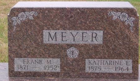 MEYER, FRANK & KATHARINE - Sac County, Iowa   FRANK & KATHARINE MEYER