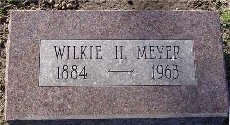 MEYER, WILKIE H. - Sac County, Iowa   WILKIE H. MEYER
