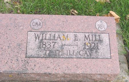 MILL, WILLIAM E. - Sac County, Iowa | WILLIAM E. MILL