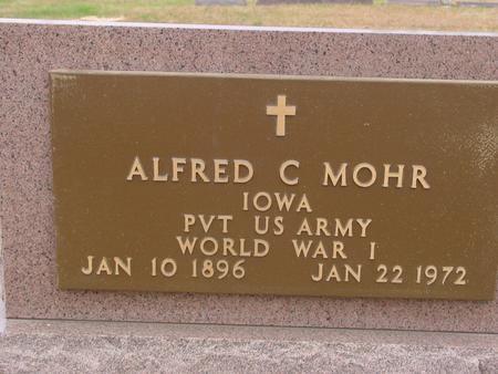 MOHR, ALFRED C. - Sac County, Iowa | ALFRED C. MOHR