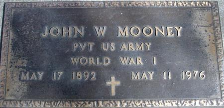 MOONEY, JOHN W. - Sac County, Iowa | JOHN W. MOONEY