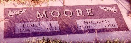 MESSER MOORE, MILDRED EDNA - Sac County, Iowa | MILDRED EDNA MESSER MOORE