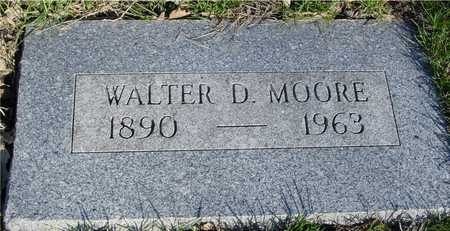 MOORE, WALTER D. - Sac County, Iowa | WALTER D. MOORE