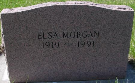 MORGAN, ELSA - Sac County, Iowa | ELSA MORGAN