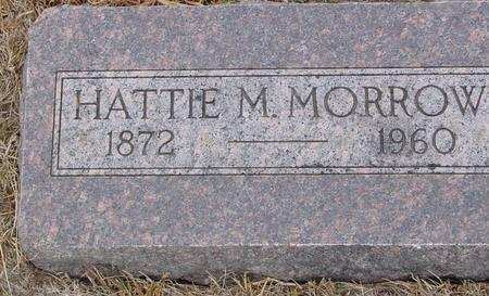 MORROW, HATTIE M. - Sac County, Iowa | HATTIE M. MORROW