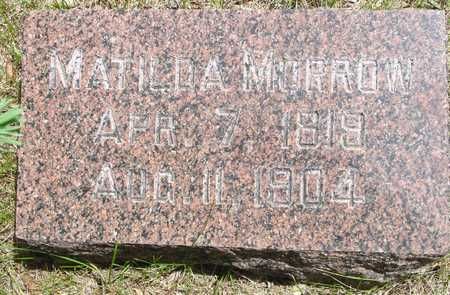 MORROW, MATILDA - Sac County, Iowa | MATILDA MORROW