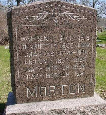 MORTON, WARREN & HENRIETTA - Sac County, Iowa | WARREN & HENRIETTA MORTON