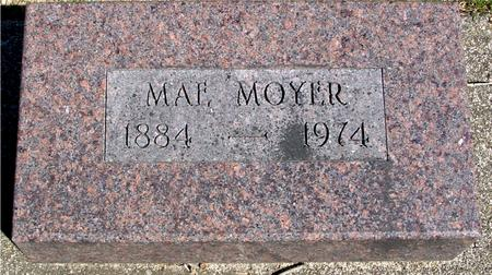 MOYER, MAE - Sac County, Iowa | MAE MOYER