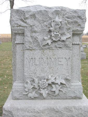 MUMMEY, FAMILY GRAVESTONE - Sac County, Iowa | FAMILY GRAVESTONE MUMMEY