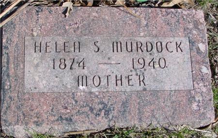 MURDOCK, HELEN S. - Sac County, Iowa   HELEN S. MURDOCK