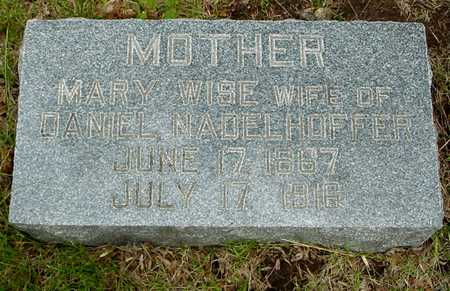 WISE NADELHOFFER, MARY - Sac County, Iowa | MARY WISE NADELHOFFER