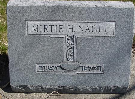NAGEL, MIRTIE H. - Sac County, Iowa | MIRTIE H. NAGEL