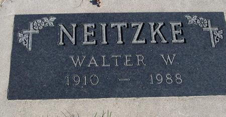 NEITZKE, WALTER W. - Sac County, Iowa | WALTER W. NEITZKE