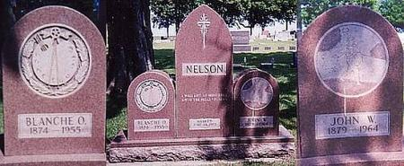 NELSON, BLANCHE O. AND JOHN W. - Sac County, Iowa | BLANCHE O. AND JOHN W. NELSON