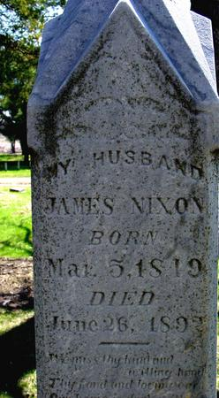 NIXON, JAMES - Sac County, Iowa | JAMES NIXON