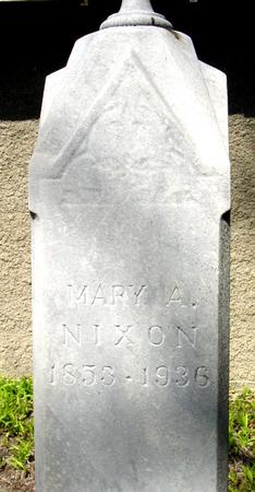 NIXON, MARY A. - Sac County, Iowa | MARY A. NIXON