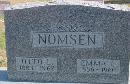 NOMSEN, OTTO & EMMA - Sac County, Iowa | OTTO & EMMA NOMSEN