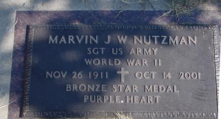 NUTZMAN, MARVIN J. W. - Sac County, Iowa | MARVIN J. W. NUTZMAN