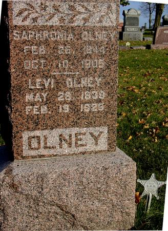 OLNEY, SAPHRONIA - Sac County, Iowa | SAPHRONIA OLNEY