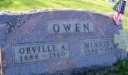 OWEN, ORVILLE A. & MINNIE - Sac County, Iowa | ORVILLE A. & MINNIE OWEN