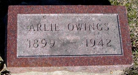 OWINGS, ARLIE - Sac County, Iowa | ARLIE OWINGS