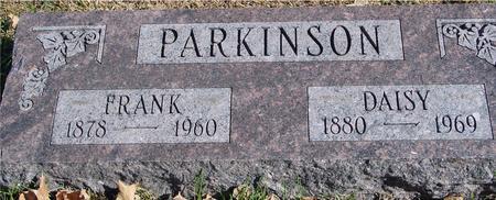 PARKINSON, FRANK & DAISY - Sac County, Iowa | FRANK & DAISY PARKINSON