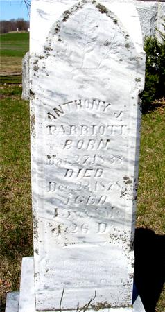 PARRIOTT, ANTHONY J. - Sac County, Iowa | ANTHONY J. PARRIOTT