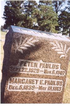 PAULUS, PETER & MARGARET - Sac County, Iowa | PETER & MARGARET PAULUS
