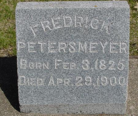 PETERSMEYER, FREDRICK - Sac County, Iowa | FREDRICK PETERSMEYER