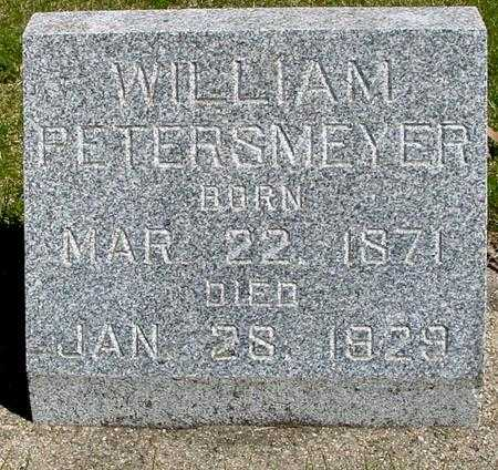 PETERSMEYER, WILLIAM - Sac County, Iowa | WILLIAM PETERSMEYER