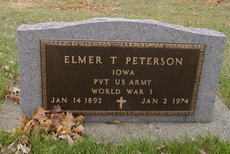 PETERSON, ELMER T. - Sac County, Iowa | ELMER T. PETERSON