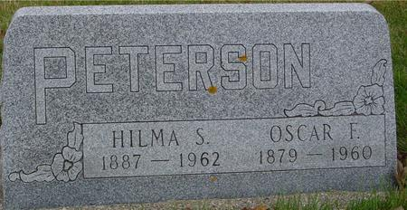 PETERSON, OSCAR F. & HILMA - Sac County, Iowa | OSCAR F. & HILMA PETERSON