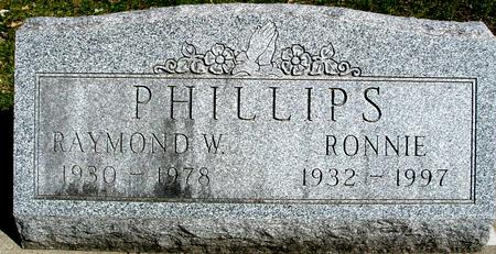 PHILLIPS, RAYMOND & RONNIE - Sac County, Iowa | RAYMOND & RONNIE PHILLIPS