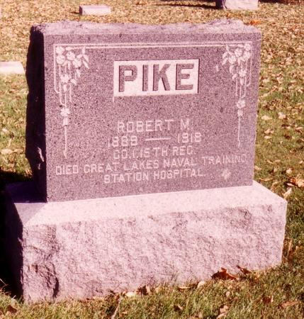 PIKE, ROBERT  M. - Sac County, Iowa | ROBERT  M. PIKE