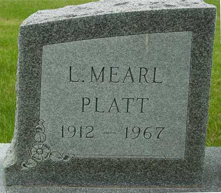 PLATT, L. MEARL - Sac County, Iowa | L. MEARL PLATT