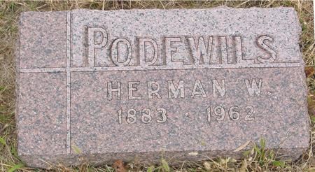 PODEWILS, HERMAN W. - Sac County, Iowa | HERMAN W. PODEWILS