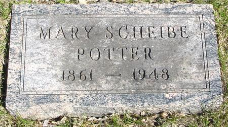 SCHEIBE POTTER, MARY - Sac County, Iowa | MARY SCHEIBE POTTER
