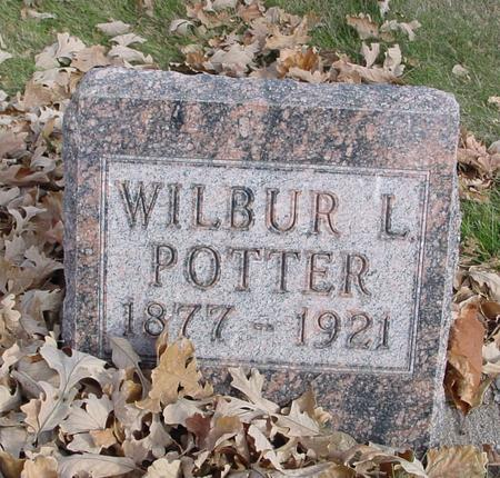 POTTER, WILBUR L. - Sac County, Iowa | WILBUR L. POTTER
