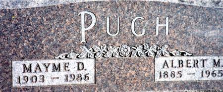 PUGH, ALBERT & MAYME - Sac County, Iowa | ALBERT & MAYME PUGH